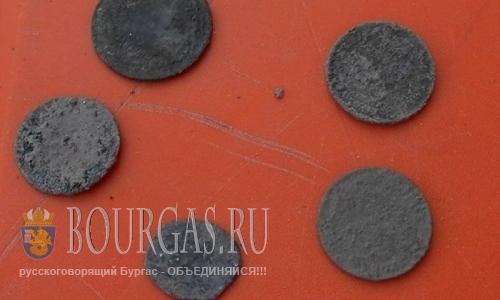 монеты найдены в Акве Калиде