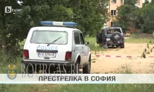 На улицах Софии была слышна стрельба и убили человека