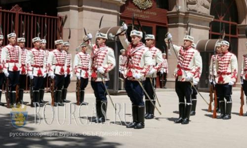 национальные гвардейцы в Болгарии