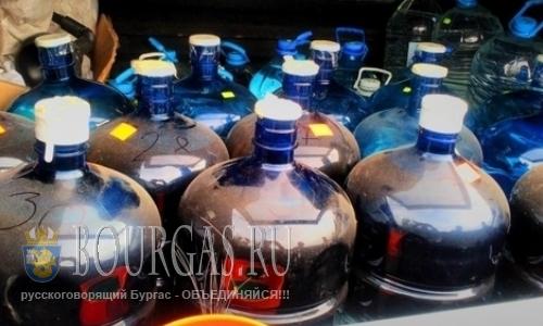 нелегальный алкоголь в Болгарии