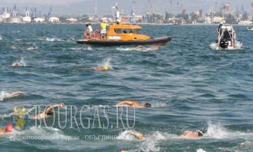 плавательный марафон Галата - Варна