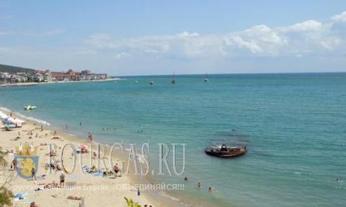 пляж Форт Нокс Свети Влас Болгария