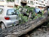Пловдив, ураган 15-го июля 2016 года