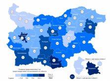 Продолжительность жизни в Болгарии в 2015 году