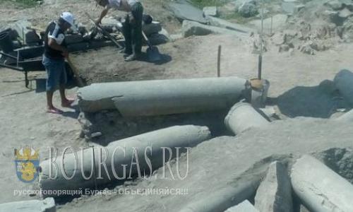 раскопки Великой Базилики в Пловдиве