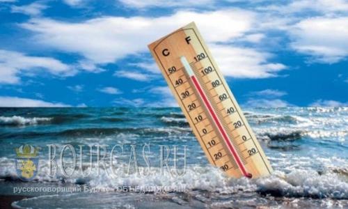температура воды в Болгарии