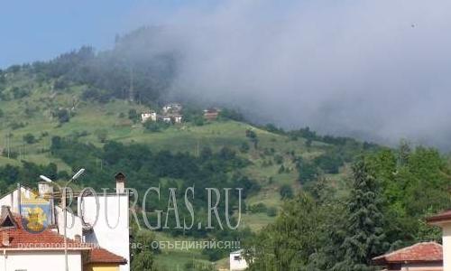 В Южной Болгарии горит 100 гектаров леса