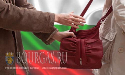 воры в Болгарии, кажи в Болгарии, грабеж в Болгарии