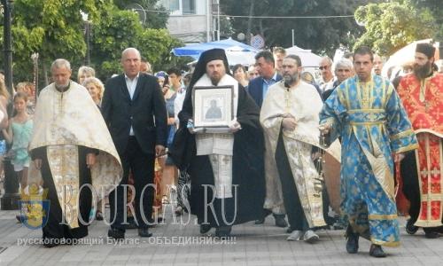 10 августа 2016 года, Болгария, Поморие, чудотворная икона Божьей Матери - Умягчение злых сердец