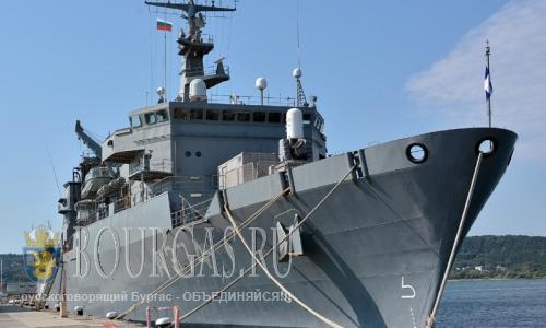 10 августа 2016 года, Болгария, Варна, с дружественным визитом зашел корабль греческих ВМС Прометеус