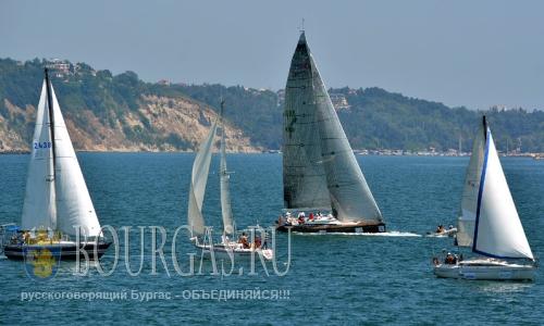 11 августа 2016 года, Болгария, Варна, Варненский залив - парусная регата Кор Кароли 2016