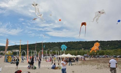 13 августа 2016 года, Болгария, Варна, пляж Аспарухово - Фестиваль воздушных змеев
