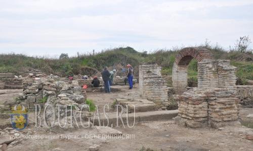 13 августа 2016 года, Болгария, Видин, село Арчар - раскопки античного поселения Рациария