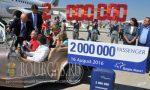 2-х миллионных пассажир прилетел в 2016 году Бургас