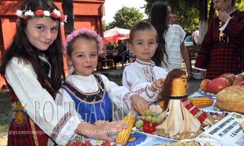 20 августа 2016 года, Болгария, село Хасково, муниципалитет Димитровград, X-й Фестиваль плодородия