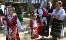 20 августа 2016 года, Болгария, село Жеравна, Сливенская область - Второй день Международного фестиваля болгарского народного костюма