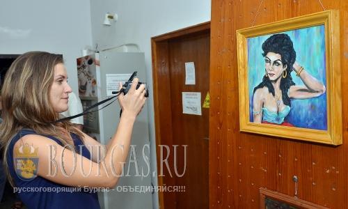23 августа 2016 года, Монтана, 4-я персональная выставка художника Ивана Каменов