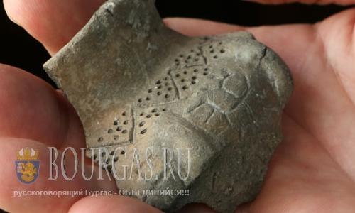 24 августа 2016 года, села Рибен, Пловдивская область, глиняный сосуд с пиктограммами, возраст которого 8 000 лет