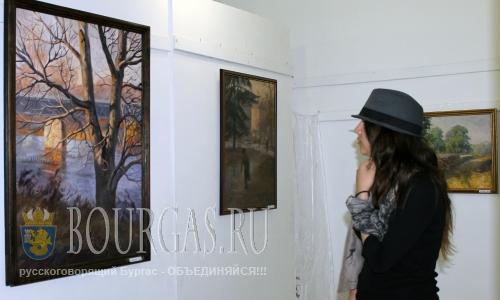 30 августа 2016 года, Димитровград, галлерея Асен Крайщников, 5-я персональная выставка живописи художника Йордана Йорданова