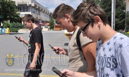 8 августа 2016 года, Болгария, Хасково, и здесь уже ловят покемонам