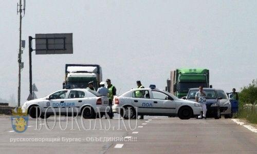 авто с нелегалами в Болгарии не ушел от погони