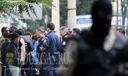 Борьба с нелегалами в Софии Болгария