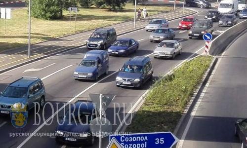 Бургас принял рекордное количество транзитронных авто