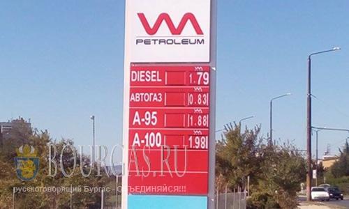цены на газ в Болгарии, цены на дизель в Болгарии, цены на бензин в Болгарии