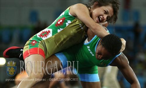 Елица Янкова побеждает в четвертьфинальной схватке на Олимпиаде в Рио-де-Жанейро