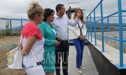 Ивелина Васильева проинспектировала очистные в селении Лозенец