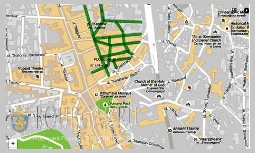 Парковая зоная в центре Пловдива может увеличится в размерах