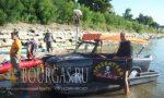 Плавающий «Трабант» принимает участие в Дунайской регате