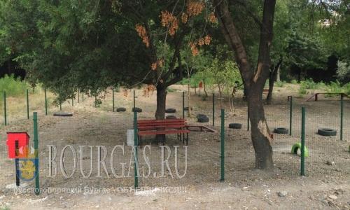 площадка для выгула собак в Сарафово