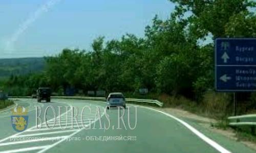 трасса Бургас-Варна