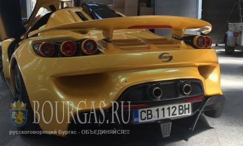 В Болгарии узаконили автомобиль собранный в Болгарии