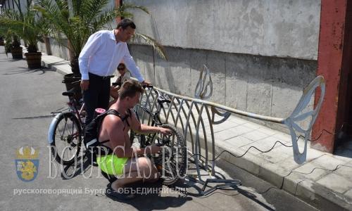 В Бургасе позаботились о велосипедистах
