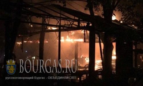 в центре Варны сгорел ресторан