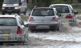 Варна утонула после сильного ливня