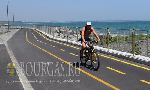 велодорожка в Сарафово, Бургасская область, Болгария