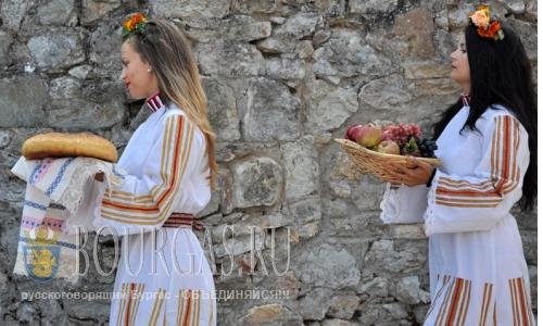 1 сентября 2016 года, село Каснаково, муниципалитет Димитровграда - праздник Нимф и Афродиты близ фракийского святилища