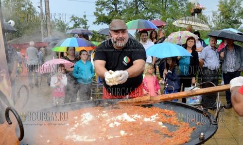10 сентября 2016 года, село Кирково, 1-й Болгарский фестиваль перца