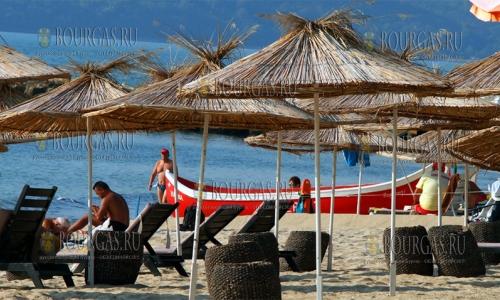 14 сентября 2016, Варна, на пляжах в регионе много отдыхающих - сезон и в сентябре продолжается