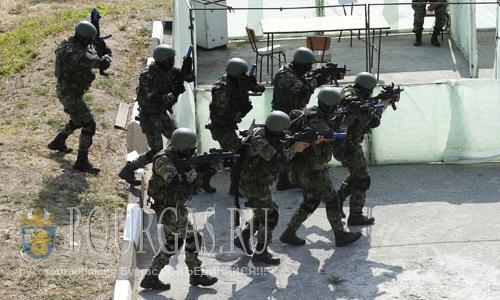 2 августа 2016 года, Болгария, Пазарджик, учения сил специальных операций Болгарской армии