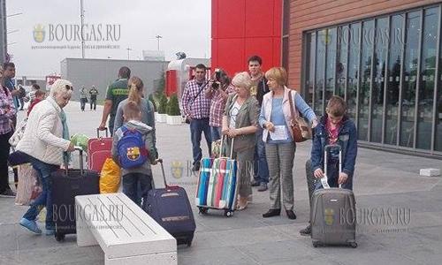 200 россиян сутки не могут вылететь из аэропорта Бургаса, Бургас - Архангельск