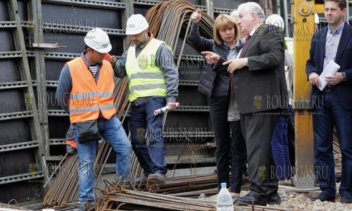 21 сентября 2016, София, строится III линия метро, все под контролем мэра Софии, Йорданка Фандыкова