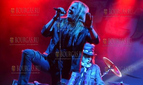 25 сентября 2016, Ловеч, Рок-Фест, выступление датской группы Pretty Maids