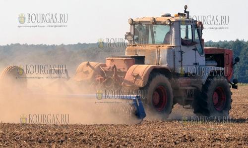 29 сентября 2016 года, Разградская область, земледельцы проводят сев озимого ячменя и пшеницы