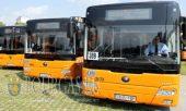 31 августа 2016 года, София, 70 новых муниципальных автобуса сделанных в Китае вышли на маршруты