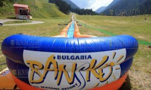 350 метровая водная в горка в Банско