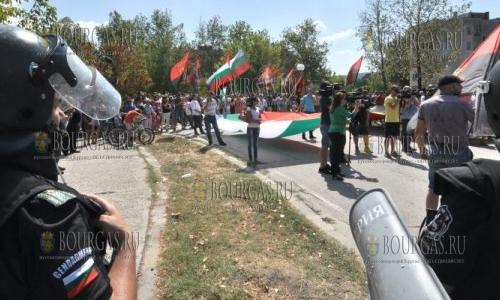 4 сентября 2016 года, Харманли, город вышел на акцию протеста и требует перевести лагерь беженцев на работу в закрытом режиме